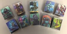 WOW WARCRAFT TCG : COMPLETE SERIES 4 DECK BOX PREMIUM SET ALL 10 CLASSES