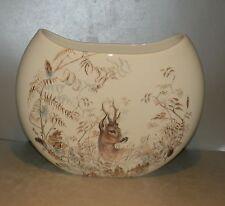 Extra Large Half Moon Vase Sologne pattern GIEN,  France