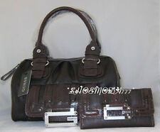 GUESS Tami Tilly Bag Sac a Main Portefeuille Brun Marron Cuir Synthétique Neuf