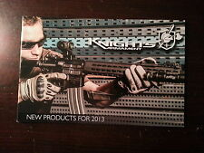 Knights Armament New Products for 2013 Catalog Booklet / 10 Pages / New