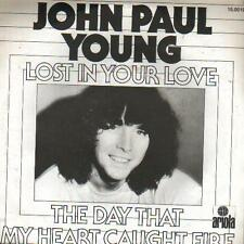 "7 "" PS record SINGLE 45 - JOHN PAUL YOUNG - LOST IN YOUR LOVE    - HOLLAND"