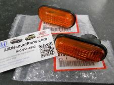 00 - 09 GENUINE HONDA S2000 AMBER SIDE MARKER LIGHTS (SET OF TWO)