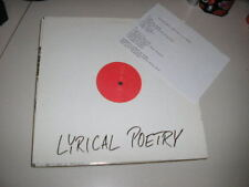 LP Hiphop Lyrical Poetry SMILE SUB UP Test?Press