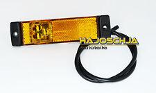 Luz de marcador lateral amarillo LED 12 - 24 Partidarios Voltios CAMIÓN Remolque
