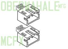 2pcs mCPx MCX MSR battery adaptor Parkzone Ultra Micro Trojan Spitfire JST nano
