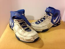 Nike Shox Elite Size 11.5 Mens Basketball Shoes Blue