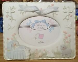 Baby's Baptism Picture Frame