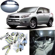 7pcs white Interior LED Light Package Kit for Toyota RAV4 2001-2005