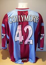 Stan Collymore 1999-2000 Very Rare Aston Villa Player Issued Shirt AFTAL/UACC RD