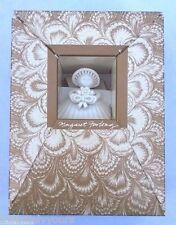 "Margaret Furlong 4"" Bouquet Sea Shell Angel 1987 Christmas Ornament, Box"