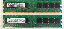 2GB Dell Dimension Optiplex Precision 2x 1GB PC2-3200 DDR2 Memory RAM DIMM GX SX