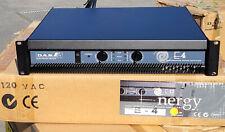 DAS Energy E-4 300W 2 Channel Power Amplifier NEW