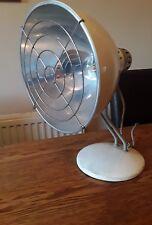 Vintage 1950 S convertis Pifco Bureau Chaleur Lampe Lampe Lampe de table Industriel Antique