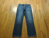 "J Crew 770 Slim Straight Jeans Men's Size 32 X 33"" Dark Wash"