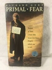 Primal Fear (VHS) Richard Gere, John Mahoney, Laura Linney