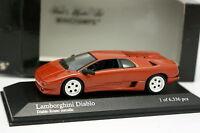 Minichamps 1/43 - Lamborghini Diablo Rouge
