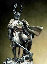 Pegaso Models 90mm Teutonic Knight White Metal Figure Kit #90-050