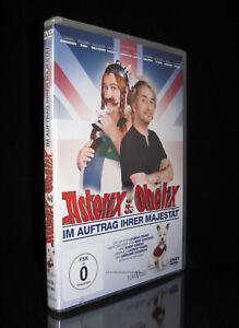 DVD ASTERIX & OBELIX - IM AUFTRAG IHRER MAJESTÄT - GERARD DEPARDIEU *** NEU ***