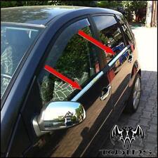Strisce Cromate sotto Finestrini Ford Fiesta 2002-2008 Cromati inox raschiavetri