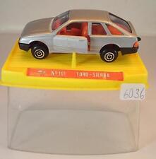 Guisval 1/64 Nr. 101 Ford Sierra Limousine silbermetallic OVP #6036