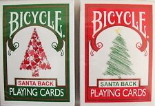 Bicycle Santa Maiden Back Playing Cards 2 Deck Set - Limited Edition - SEALED