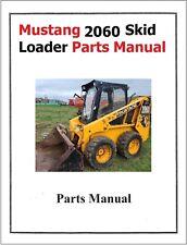 Mustang 2060 Skid Loader Service Parts Manual Model 2060