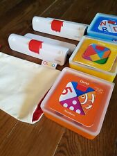 Osmo Genius Starter Kit 2 BASES, tangram, numbers, words. Immaculate.