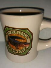 Diner style JC Penney One Arm Pete Swamp Tours Kitchen Coffee Mug