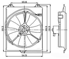 Engine Cooling Fan Assembly Global 2811371