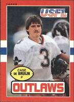 1985 Topps USFL Football Base Singles (Pick Your Cards)