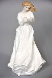 Royal Doulton Figurine Thank You, Sentiments Range HN3390 Made in England 1991