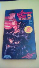 A Nightmare On Elm Street 5 RARE Media 1st Ed. UNCENSORED VHS 80s cult horror
