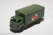 MATCHBOX LESNEY 63 BEDFORD FORD 3 TON ARMY SERVICE AMBULANCE EXCELLENT CONDITION