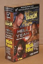 WWF Ringleaders Collection (DVD, 2002) Wrestling The Rock Stone Cold Mick Foley