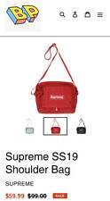 Supreme SS19 Red Shoulder Bag New With Tags Shipped Next Same Day 100% Authentic