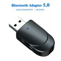 Bluetooth 5.0 Audio Transmitter Receiver Wireless Stereo Bluetooth Adapter UK