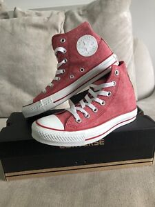 NEW CONVERSE Chuck Taylor All Star High Top Red Mens 4.5 Womens 6.5 US [376]