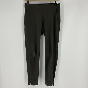 Athleta Pants Size 2P Womens Gray Athletic The Brooklyn Ankle Lightweight Travel