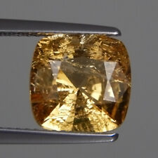 """4.16 Cts_ANTIQUE Rare Collection_100 % Natural UNHEATED Royal """" IMPERIAL """" Topaz"""