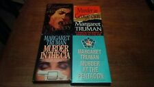 Margaret Truman Hardcovered Book Group 4 Titles