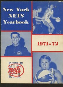 1970/1971 ABA Basketball New York Nets Yearbook VGEX