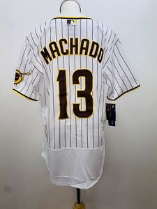 MLB San Diego Padres Manny Machado #13 Home Team Jersey Size 40,44,52,56