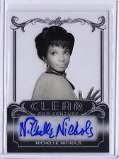 2017 Pop Century Nichelle Nichols Clear Acetate Autograph Card STAR TREK UHURA