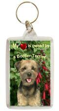 Border Terrier Keyring Key Ring Border Birthday Gift Xmas Gift Stocking Filler