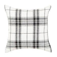 Lommond Black Tartan Cushion Cover - 45 x 45cm