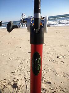 4 SURF FISHING BEACH STRIPER BLUEFISH BEACH BUGGY SAND SPIKES 56 INCHES LONG