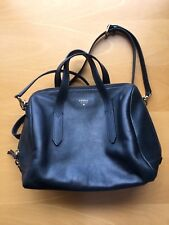 Discontinued Fossil Sydney Satchel Bag Heritage Blue Very Rare!!!