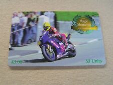 ISLE of MAN used chip card  TT  Magic Moments Joey Dunlop  2000
