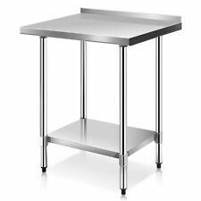 "24"" x 30"" Stainless Steel Work Prep Table with Backsplash Restaurant Kitchen New"
