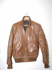 Vintage Auth. Alpha industries Leather CWU 45/P Flight Bomber Pilot Army Jacket